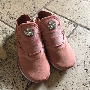 Puma jeweled sneakers